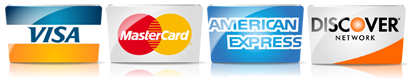 credit cards accepted at Dirt Connections are Visa Mastercard AmEx and Discover