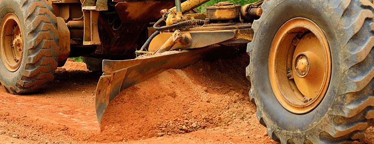 fairfax va residential dirt grading site work