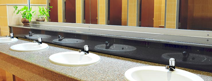 Charmant Fairfax, VA Commercial Bathroom Remodeling