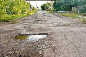 commercial asphalt paving potholes