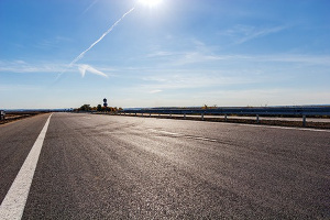 commercial asphalt paving lot