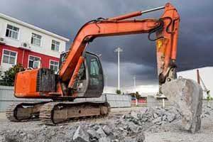 fairfax va heavy construction vehicle