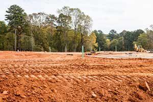 Fairfax, VA residential dirt grading