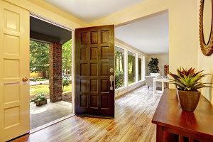 residential foundation repairs door