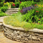 retaining wall commercial