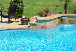 pool that is being examined by a pool removal contractor