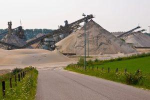 rock quarry in Alexandria, VA that needs a fill dirt delivery