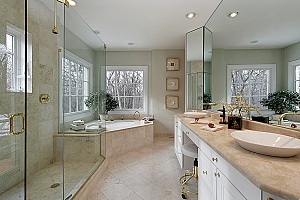 a bathroom that is incorporating one of the best bathroom remodeling ideas