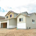 a brand new home being built that is using Rockville, Maryland fill dirt to provide for the home's foundation