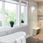 A bathroom that has recently undergone Fairfax bathroom remodeling from a Dirt Connections Fairfax bathroom remodeling contractor
