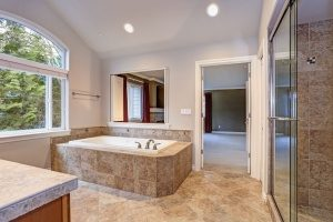 brand new bathroom remodel where the homeonwer wanted to avoid a DIY project and instead chose a trusted bathroom remodeling contractor in Fairfax, VA
