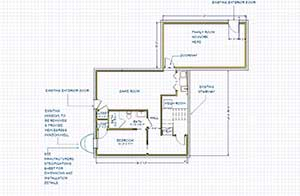 Basement floor plans with dimensions
