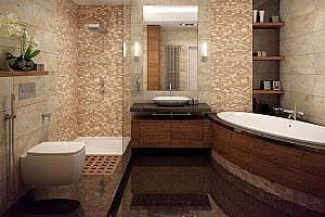 A Brand New Fairfax Bathroom Remodeling Project That Has Been Completed By  A Contractor After Six