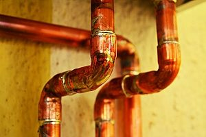 copper plumbing installed by a Fairfax bathroom remodeling contractor which is one of the most common trends among homeowners who need new plumbing