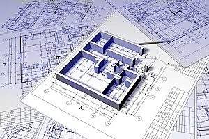 basement renderings and construction plans for a homeowner that is interested in a basement construction