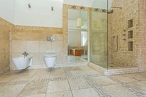 bathroom tile that was installed during a Fairfax bathroom remodel that reflected some of the top remodeling ideas moving into 2019