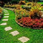 a garden that is shifting and therefore will require the help of a Maryland fill dirt contractor to keep the soil from shifting