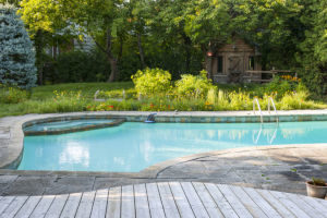 an inground pool in a person's backyard going to be removed