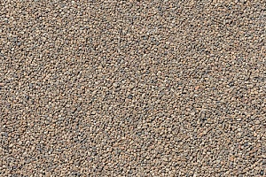 pea gravel patio ground sample