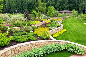 landscaping done by a Maryland landscape supply company