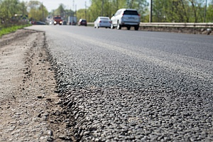 asphalt millings that are in need of replacement
