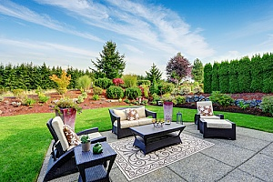 Landscaping ideas on display