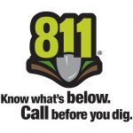 Ms. Utility Logo, call before you dig