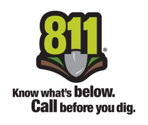 always call 811 before you dig