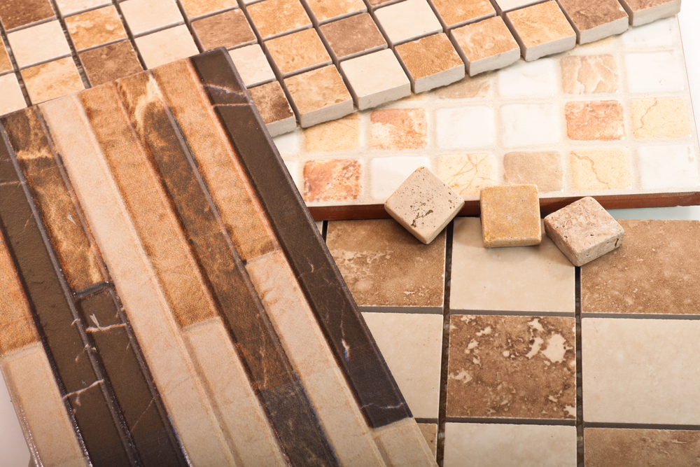 Different tile samples