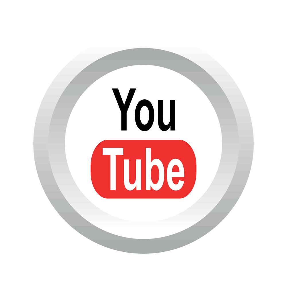 Button to access Dirt Connection's YouTube channel