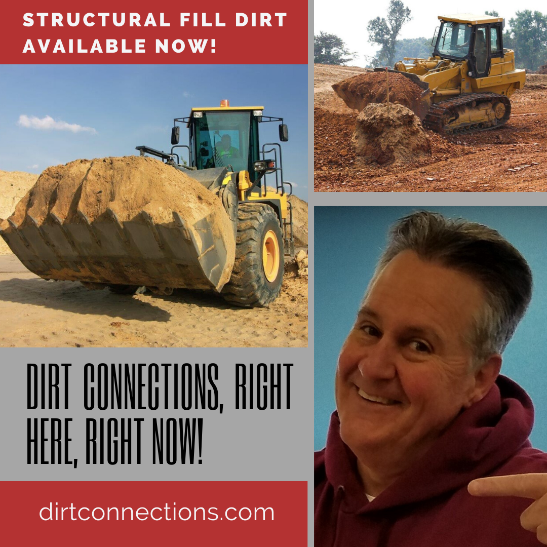 Dirt Connections structural fill dirt flyer