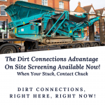 Dirt Connection's Screening Machine