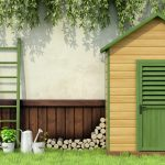 build a shed foundation to protect the shed from bad weather conditions