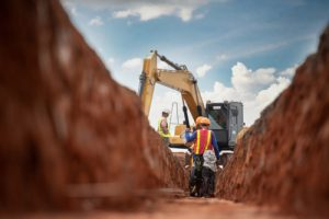 Virginia miss utility and excavation work