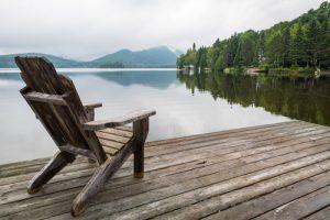 build a dock frame