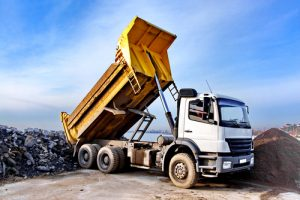 Dirt Connections dump truck hauling services