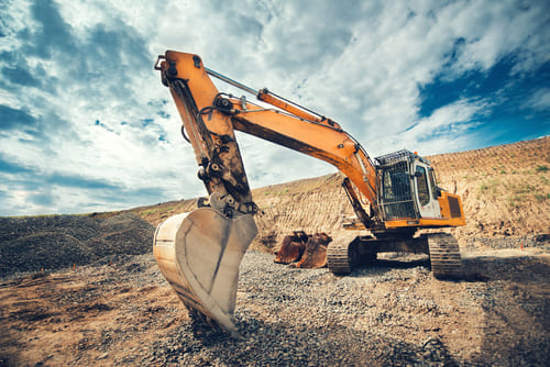 Excavating involves strategically moving dirt and rock