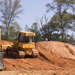 Landscape grading fill dirt