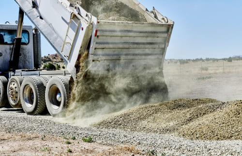 regular gravel maintenance is the key