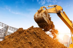 services of excavating contractors
