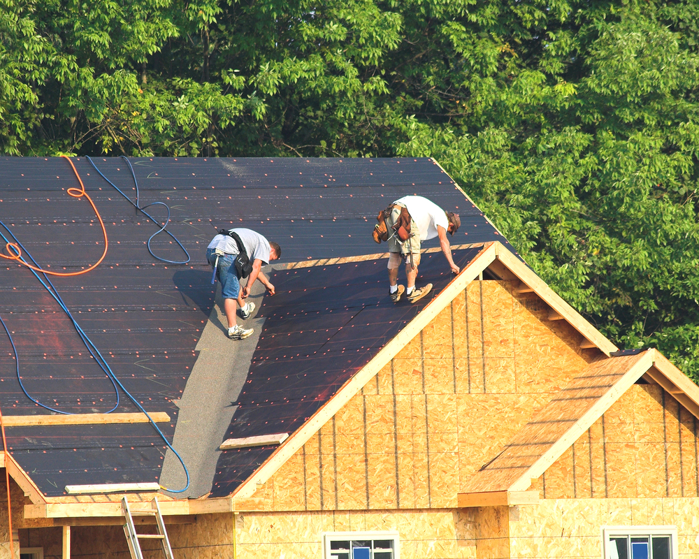 New Roof by Dirt Connections Team