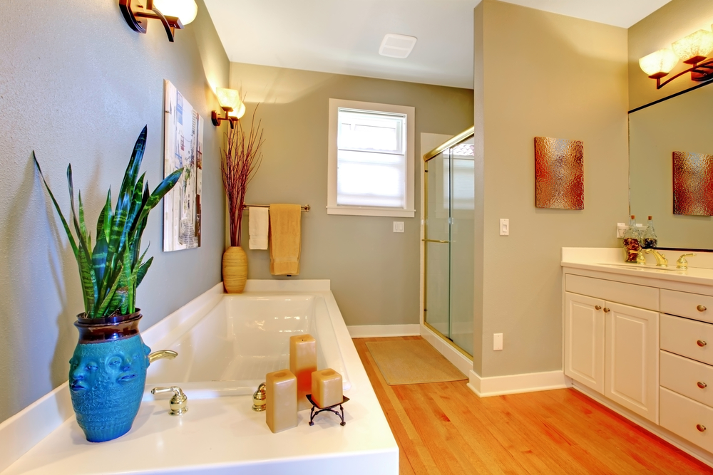 beautiful, clean and new bathroom remodeling project completed by the Dirt Connections Remodeling Team.