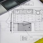 A blueprint for bathroom remodeling with other items