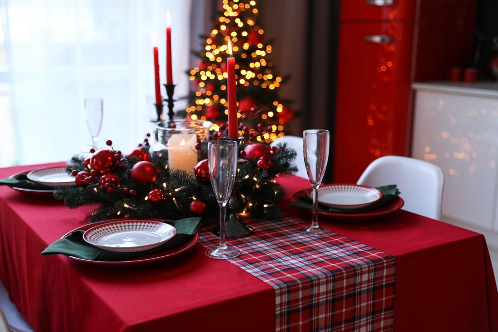 beautiful Christmas kitchen