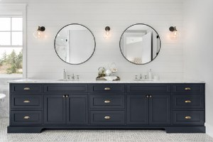 Double Vanity ideas for bathroom remodeling in Northern VA