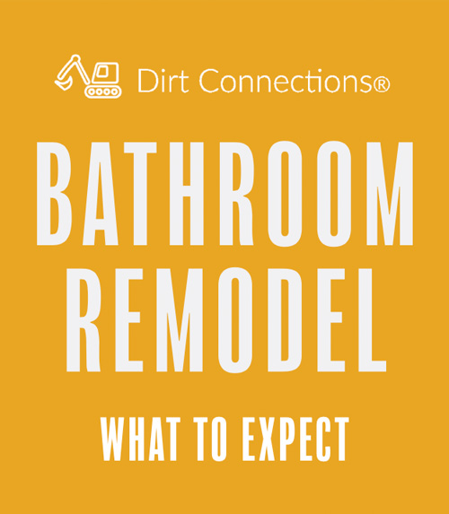 Dirt Connections bathroom remodel guide
