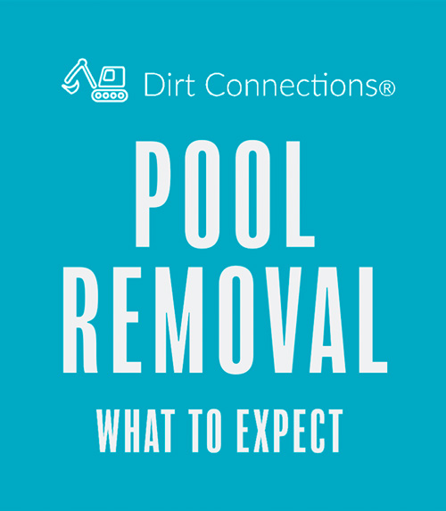 Dirt Connections pool removal guide