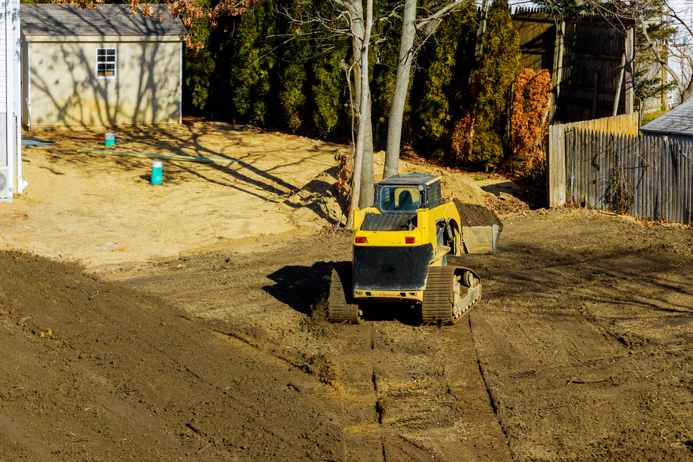 driveway prep work by dirt connections