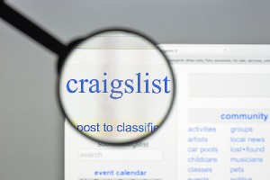 Enlarged Craig's list logo. You can list fill dirt disposal online on sites like Craigslist