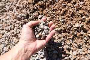 Handful of # 57 stone